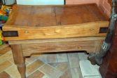 Antique Georgian early 19th Century butchers' block, c1800